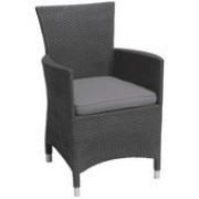 кресло MONTANA с подушкой,коричневый